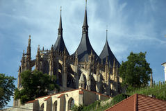 Cathedral of St. barobry Stock Photography