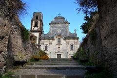 Cathedral of St. Bartholomew - Lipari, Sicily Royalty Free Stock Photo