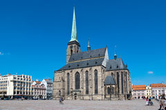 Cathedral of St. Bartholomew, Plzen, Czech republic Royalty Free Stock Image