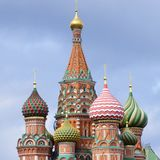 Cathedral of St. Basil Stock Photos
