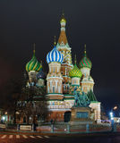 The Cathedral of St. Basil. In Moscow Royalty Free Stock Photos