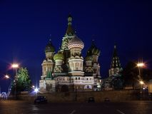 Cathedral of St. Basil. Red Square, Moscow, Russia Royalty Free Stock Image