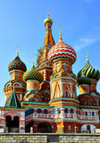 Cathedral of St. Basil the Blessed Stock Photography
