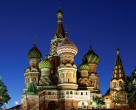 The Cathedral of St. Basil the Blessed Stock Image
