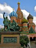 Cathedral of st Basil, Moscow Stock Photography