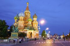 Cathedral of St. Basil Royalty Free Stock Images