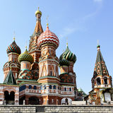 Cathedral of St. Basil's the Blessed Royalty Free Stock Photography