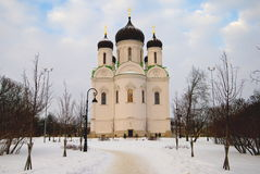 Cathedral of St. Catherine in Tsarskoye Selo (Pushkin) Stock Photos