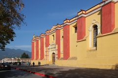 Cathedral of St. Christopher, San Cristóbal de las Casas, Mexico Royalty Free Stock Image