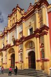 Cathedral of St. Christopher, San Cristóbal de las Casas, Mexico royalty free stock photo