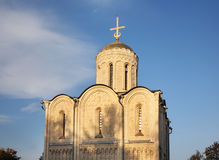Cathedral of St. Demetrius in Vladimir. Russia Royalty Free Stock Images