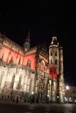 Cathedral of St. Elisabeth in Kosice, Slovakia Royalty Free Stock Photo