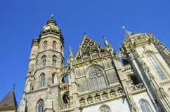 Cathedral of St Elisabeth in Kosice, Slovakia Royalty Free Stock Photo