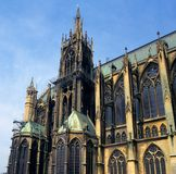 Cathedral St Etienne, Metz, Lorraine, France Stock Photography