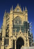 Cathedral St Etienne, Metz, Lorraine, France Stock Images