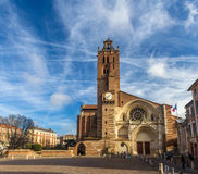Cathedral St. Etienne of Toulouse, France. Cathedral St. Etienne of Toulouse - France Royalty Free Stock Images