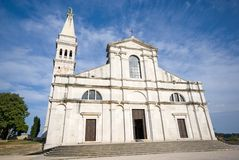Cathedral of St Euphemia royalty free stock image