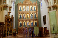 The Cathedral of St Francis of Assisi in Santa Fe New Mexico USA Stock Photo