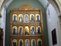 The Cathedral of St Francis of Assisi in Santa Fe New Mexico USA Royalty Free Stock Images
