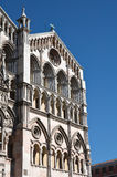 Cathedral of St. George. Ferrara. Emilia-Romagna. Royalty Free Stock Photos