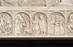 Cathedral of St. George. Ferrara. Emilia-Romagna. Stock Image