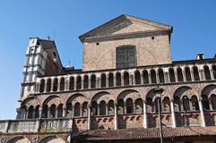 Cathedral of St. George. Ferrara. Emilia-Romagna. Royalty Free Stock Photography