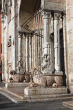 Cathedral of St. George. Ferrara. Emilia-Romagna. Stock Photos