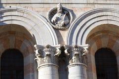 Cathedral of St. George. Ferrara. Emilia-Romagna. Stock Images