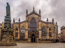 St Giles Cathedral. Cathedral of St Giles, Edinburgh, Scotland Royalty Free Stock Photography