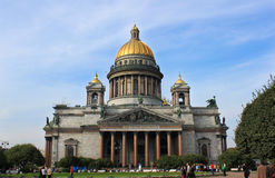 Cathedral of st. Isaak Stock Photography
