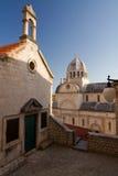 Cathedral of St. Jacob. Sibenik, Croatia royalty free stock image