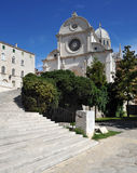 Cathedral of St. James. In Sibenik, Croatia Stock Image