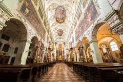 Cathedral of St  James  Dom zu St  Jakob Royalty Free Stock Photography