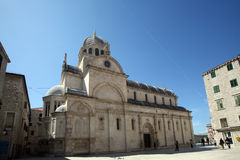 Cathedral of St. James in Sibenik Royalty Free Stock Photography