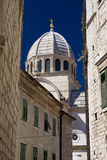 Cathedral of St. James. Sibenik, Croatia. Cathedral of St. James build in gothic and renaissance style. UNESCO World Heritage Site. Sibenik, Croatia Royalty Free Stock Photo