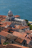 Cathedral of St. James in Sibenik, Croatia Stock Photography