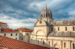 The Cathedral of St. James, Sibenik, Croatia Royalty Free Stock Image
