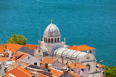 Cathedral of St. James in Sibenik, Croatia Stock Image