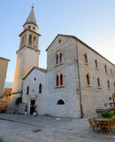 Cathedral of St. John the Baptist, Budva, Montenegro Stock Image