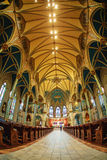 Cathedral of St. John the Baptist Royalty Free Stock Photos