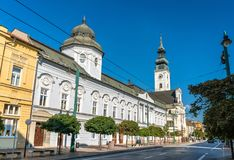 Cathedral of St John the Baptist in Presov, Slovakia Stock Image