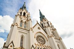 Cathedral of St. John the Baptist in Savannah, Georgia Royalty Free Stock Photo