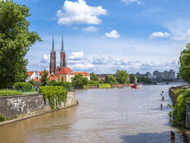 Cathedral of St. John the Baptist in Wrocław Royalty Free Stock Photo