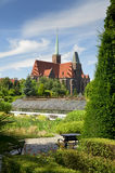 Cathedral of St. John the Baptist. Wroclaw, Poland Royalty Free Stock Image