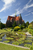 Cathedral of St. John the Baptist. Wroclaw, Poland Stock Image