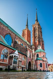 Cathedral of St. John the Baptist in Wroclaw Stock Photography