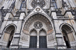 Cathedral of St. John the Divine Stock Images