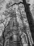 The Cathedral of St. John the Divine, officially the Cathedral Church of Saint John, New York stock image