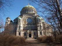 Cathedral of St. John Kronstadt Royalty Free Stock Images