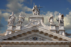 Cathedral of St. John (Rome) royalty free stock photography